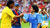 Tangan Tuhan Hentikan Detak Jantung Legenda Diego Maradona