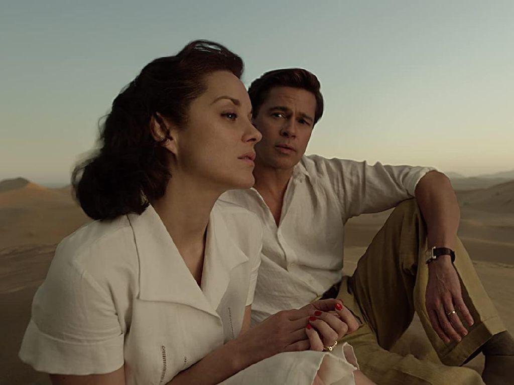 Sinopsis Allied, Brad Pitt Jatuh Cinta di Tengah Perang