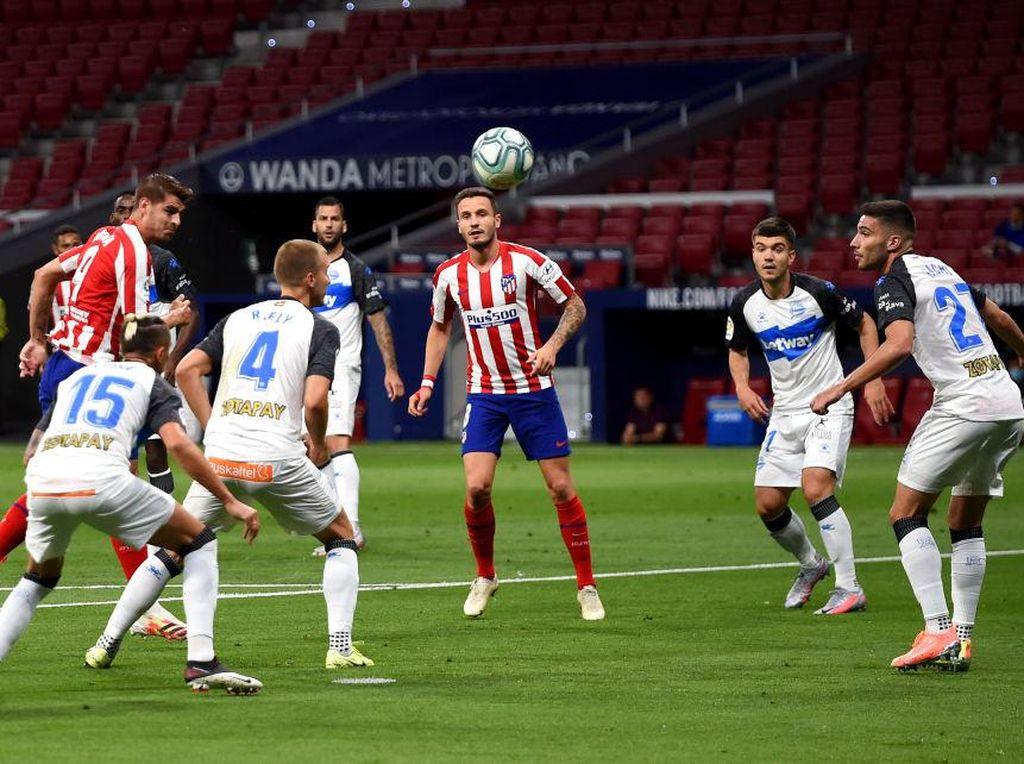 Atletico Vs Alaves: Los Rojiblancos Menang 2-1