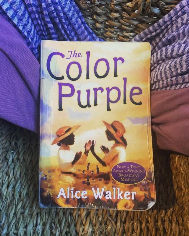 Novel The Color Purple Alice Walker/ Foto: Instagram.com/lindsaylibrary