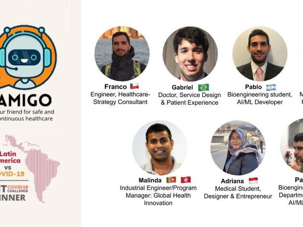 Mahasiswa UI Juara Hackathon MIT COVID-19 Challenge