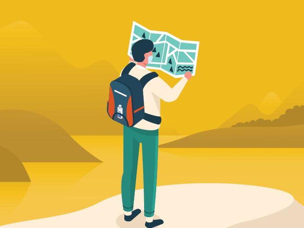 Infografis: 7 Protokol Kesehatan di Tempat Wisata