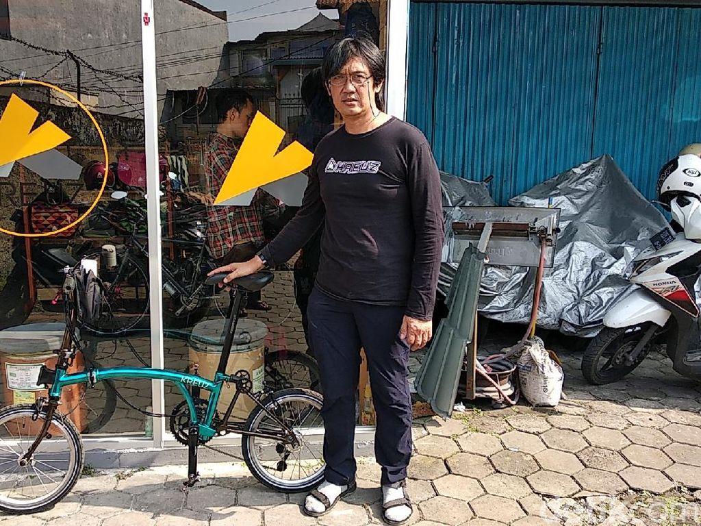 Ini Bedanya Kreuz dengan Sepeda Brompton Asli