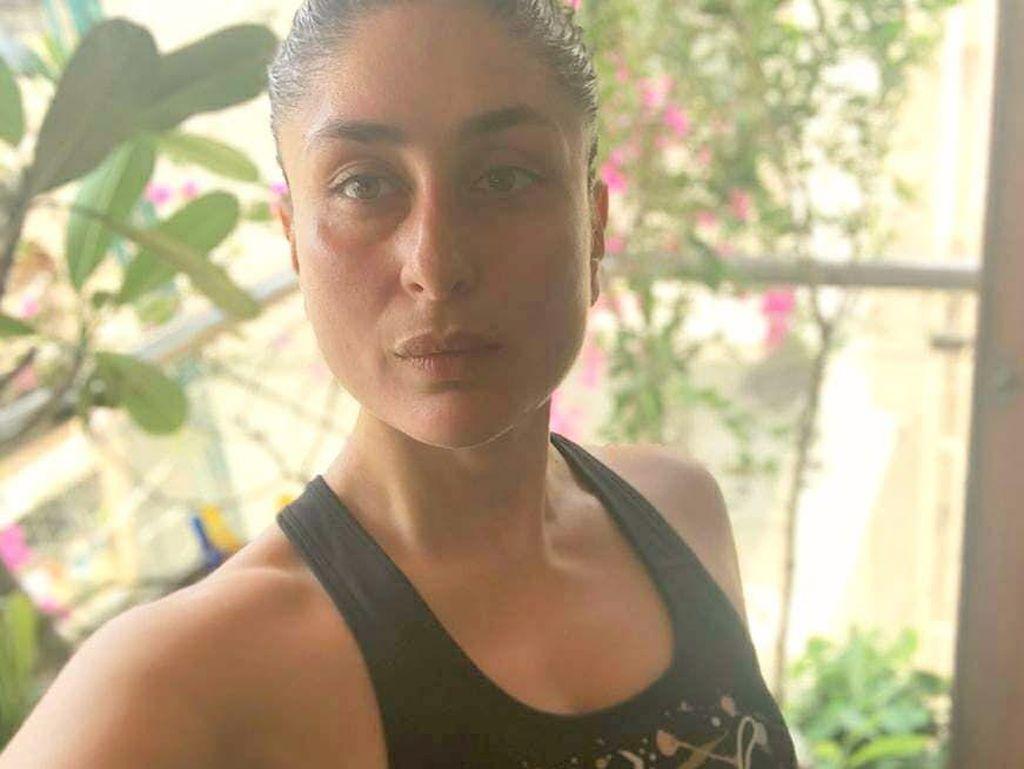 7 Potret Wajah Cantik Kareena Kapoor Tanpa Make Up