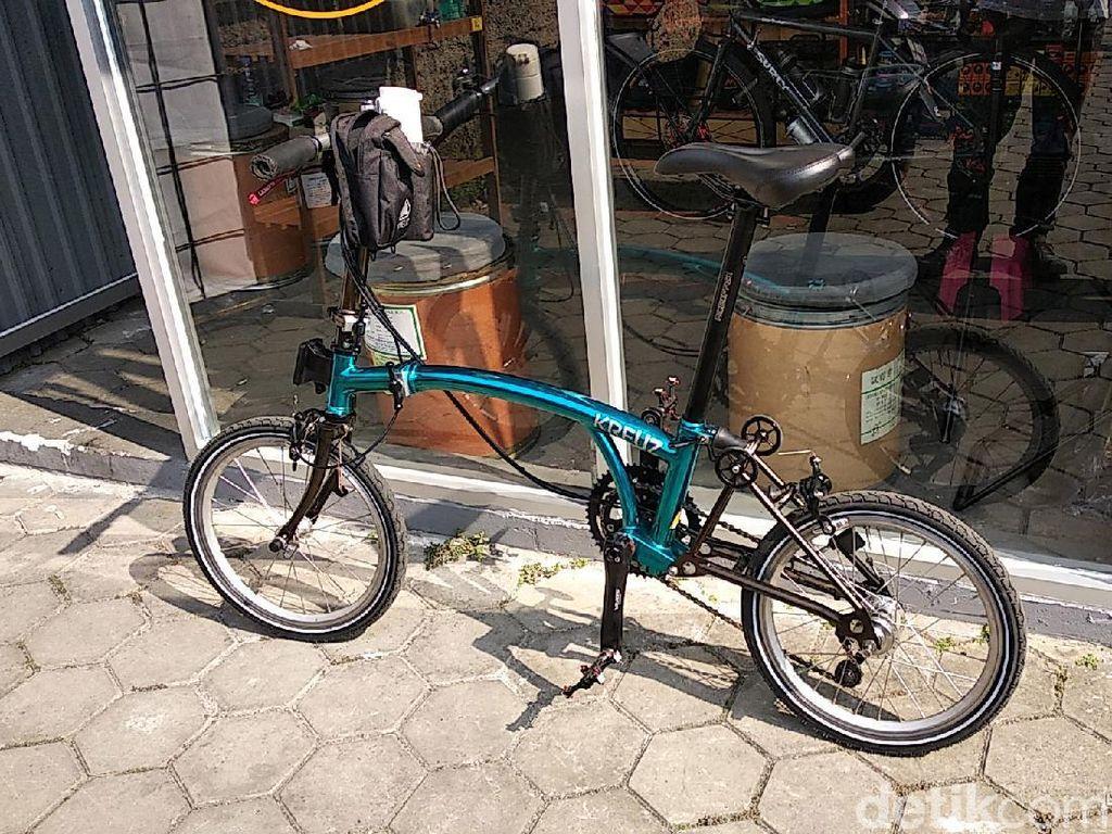 Kreuz, Sepeda Brompton Made in Bandung