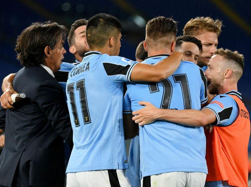 Kemenangan Penting di Tengah Keterbatasan Lazio