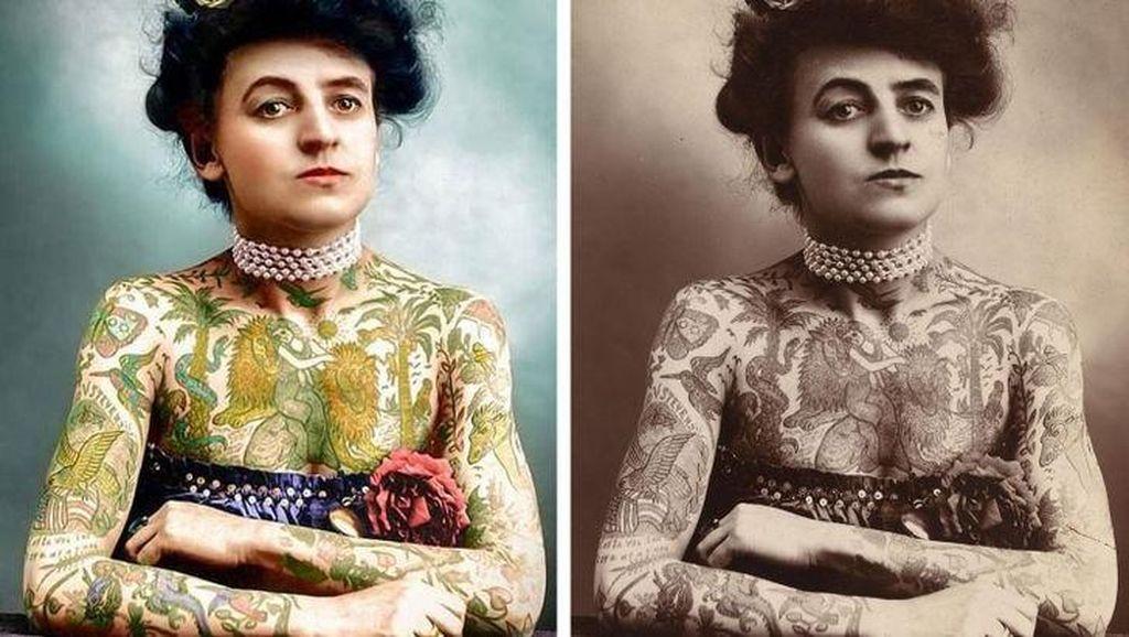 Habiskan 3 Ribu Jam, Seniman Ini Warnai Foto Sejarah Hitam Putih