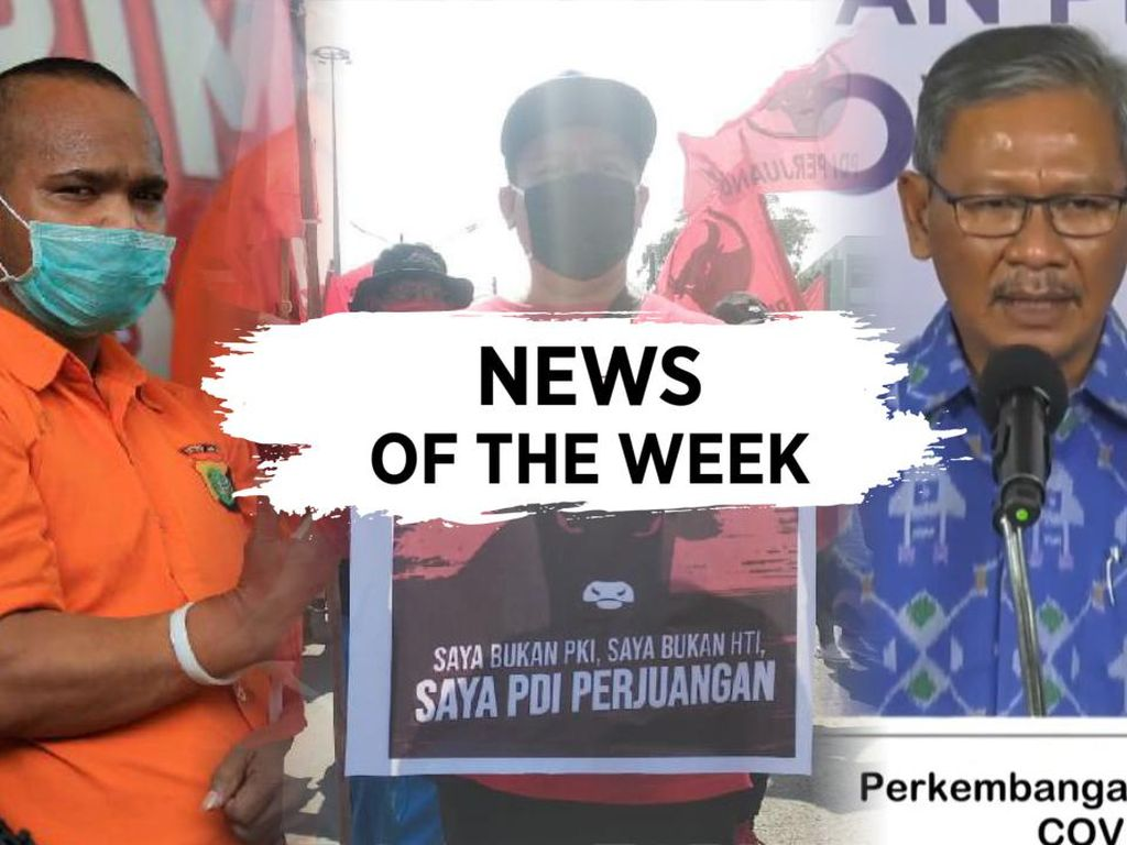 News Of The Week: Bendera PDIP Dibakar, Aksi Brutal John Kei