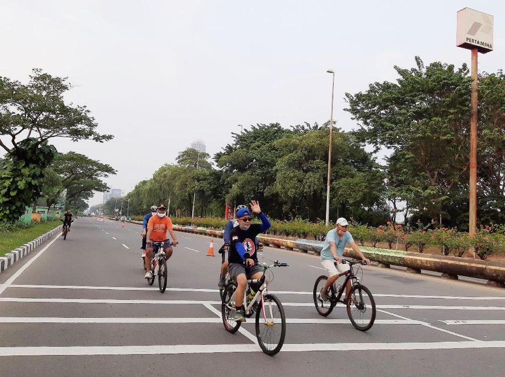 Ini Jumlah Pesepeda-Pejalan Kaki di 32 Titik CFD DKI 28 Juni, Jaktim Terbanyak