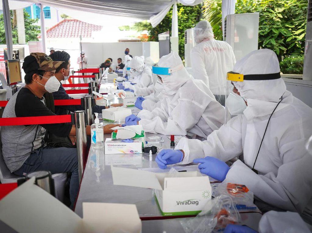 Pemprov DKI Telah Rapid Test 224.821 Orang dan Tes PCR 301.760 Sampel