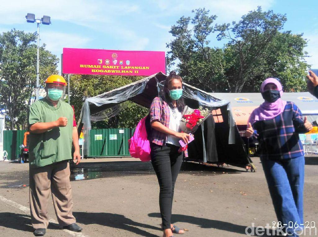 Kabar Gembira, 72,9 Persen Pasien COVID-19 RS Lapangan Surabaya Sembuh