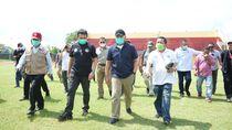 Gubernur Sumsel Cek Kesiapan Stadion Jakabaring untuk Piala Dunia U-20