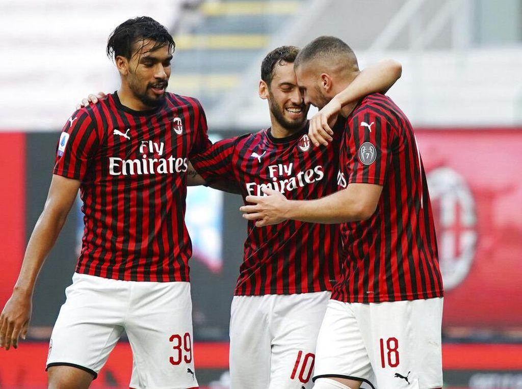 Milan Gasak Roma 2-0 di San Siro
