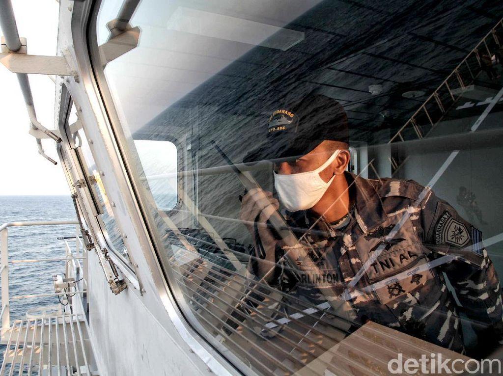 Aksi TNI AL Saat Latihan Menjaga Wilayah Maritim NKRI