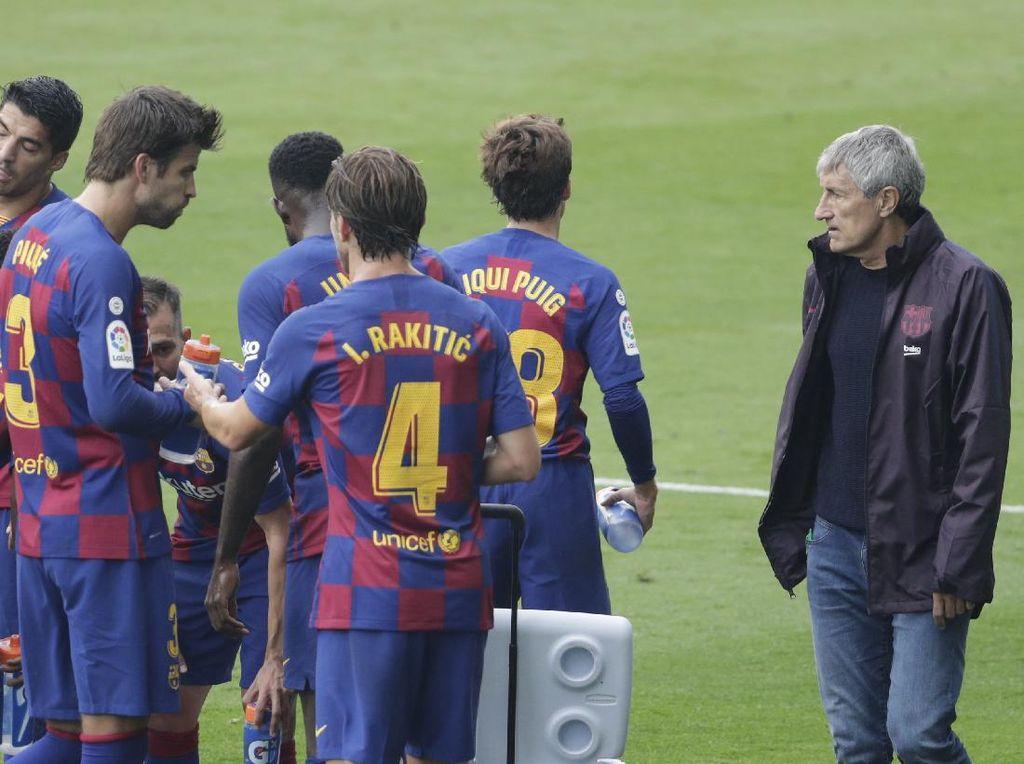 Lawan Alaves, Ajang Barcelona Latihan Kejar Liga Champions