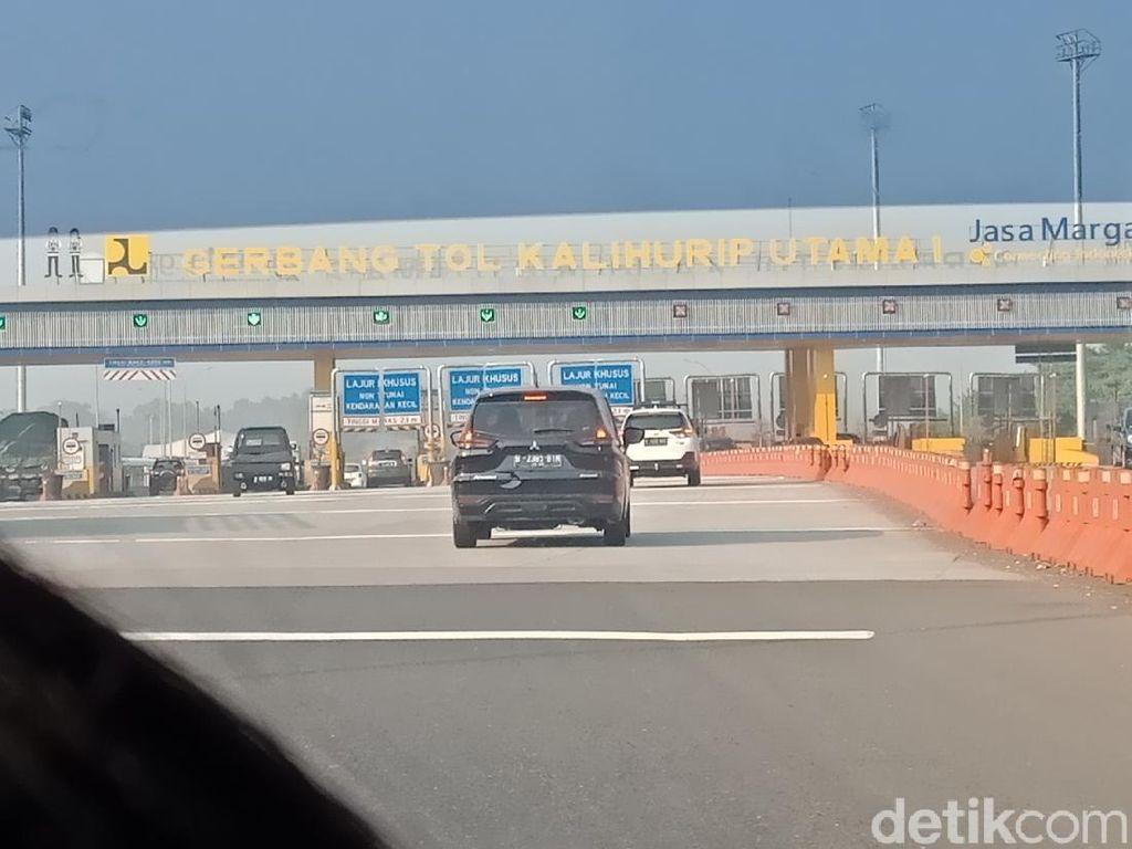 Check Point di Tol Jakarta-Bandung Ditiadakan, Kendaraan Pelat B Bebas Masuk