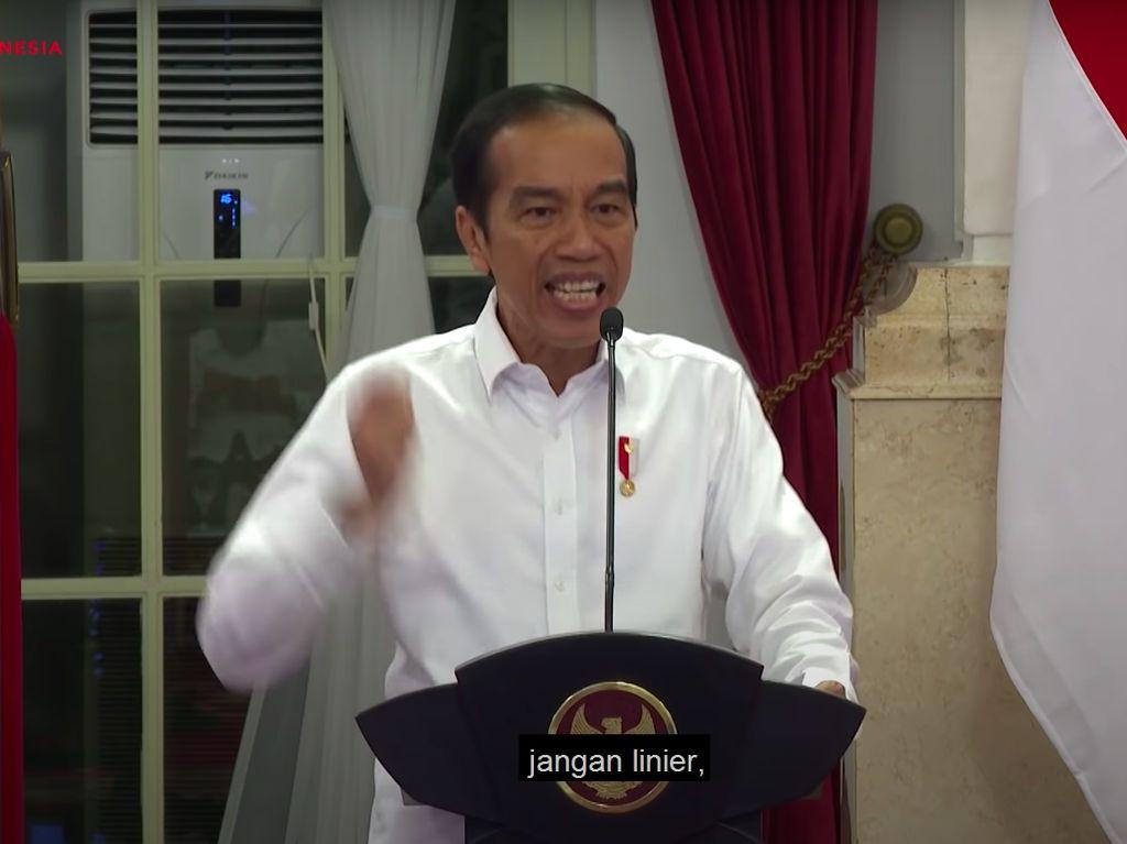 Ini yang Bikin Jokowi Kesal saat Rapat