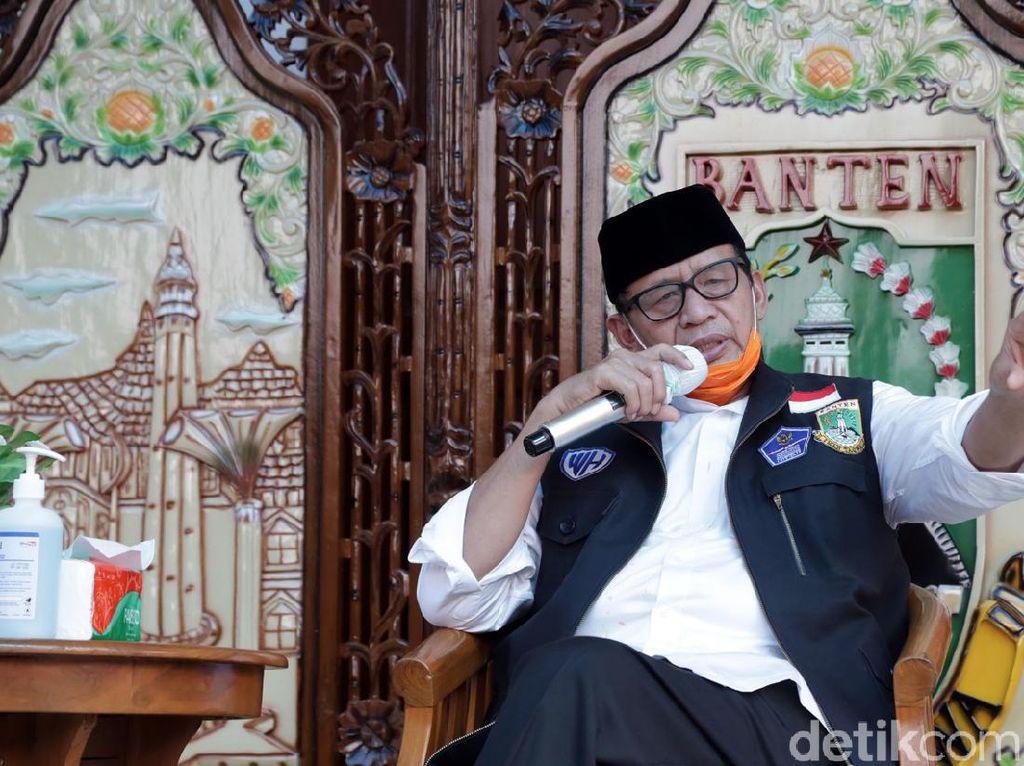 Cegah COVID-19, Gubernur Banten Targetkan 3-10 Ribu Tes Swab Per Hari