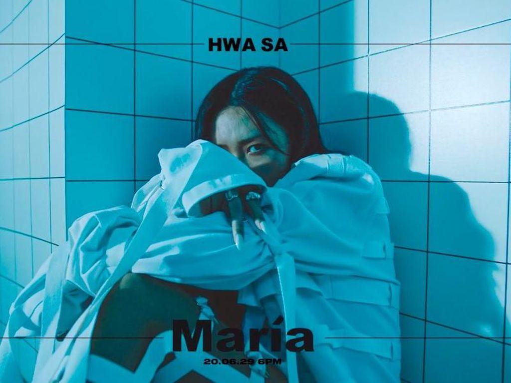 Cerita Hwasa MAMAMOO Menangis dalam Proses Pembuatan Album Solo Maria