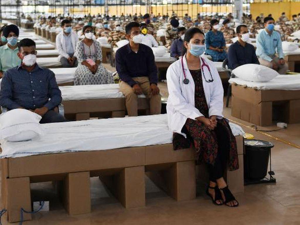 Hadapi Corona, India Buka Proyek RS Terbesar di Dunia