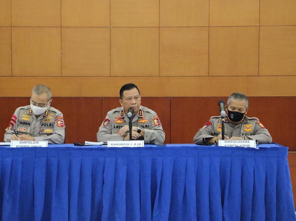 Tertibkan TSS Selat Sunda-Lombok, Polri Kerahkan 2 Kapal dan Heli