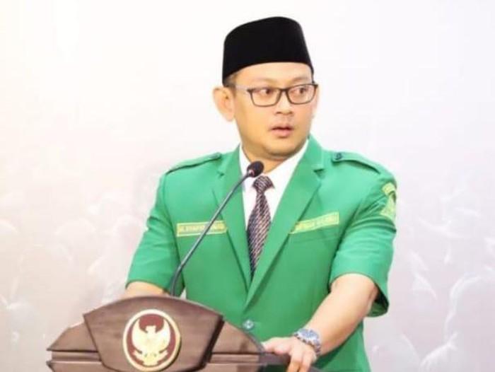 Ketua PW GP Ansor Jawa Timur Syafiq Syauqi