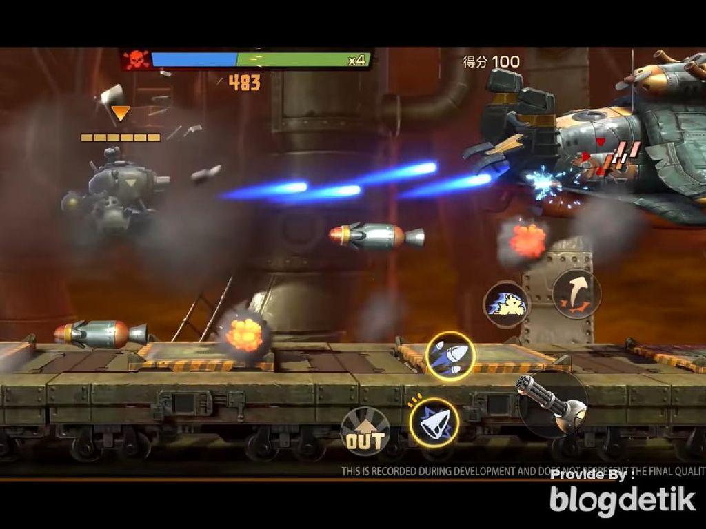 Tencent Bawa Game Lawas Metal Slug ke Smartphone