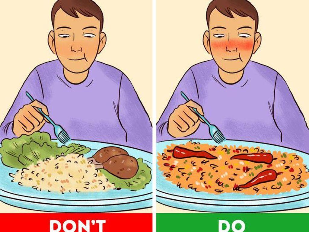 7 Trik Batasi Porsi Makan Saat Diet, Gampang Ditiru!
