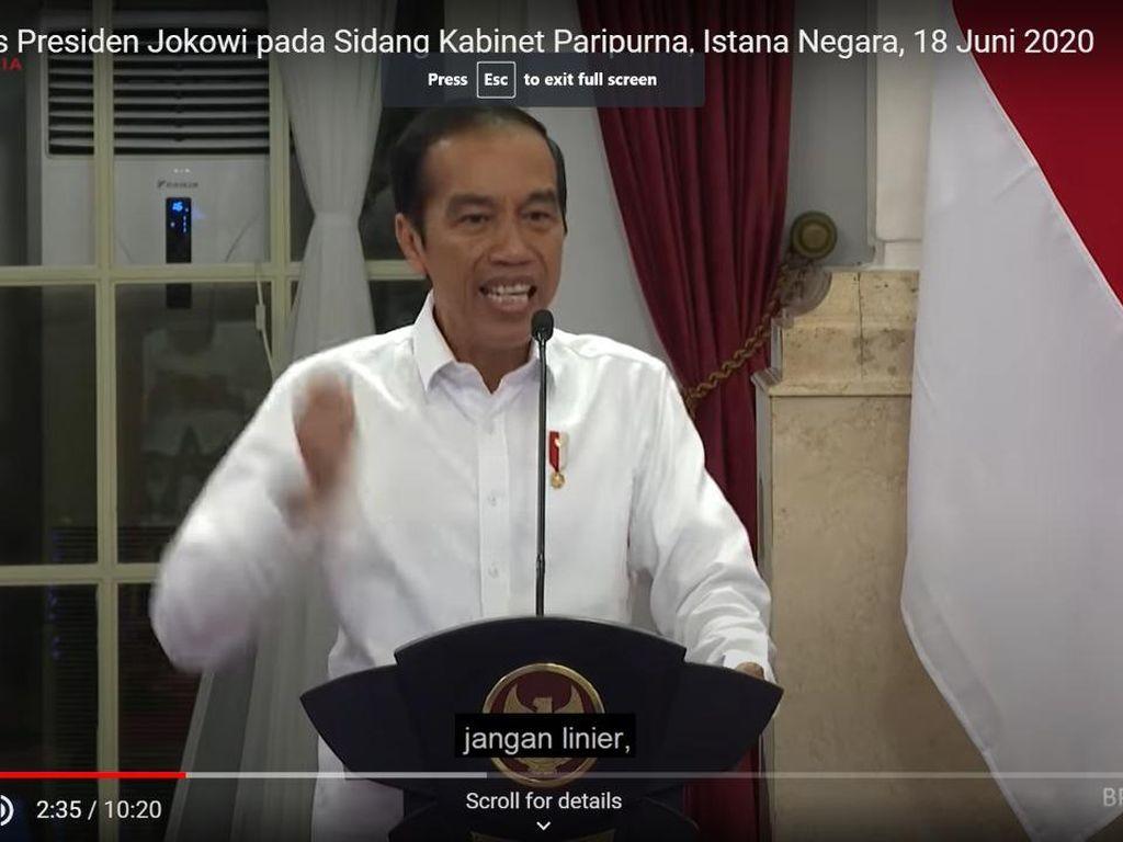 4 Momen Jokowi Marah-marah saat Pandemi Corona