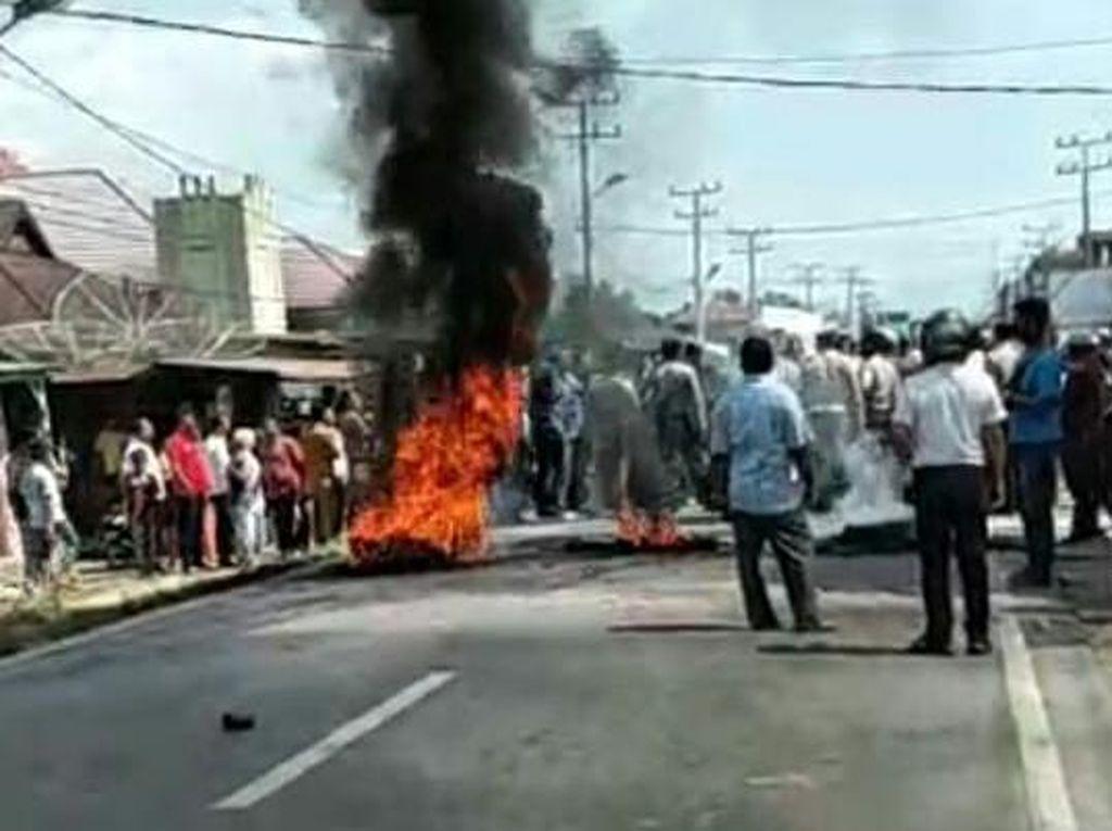 Polisi Tetapkan 3 Tersangka Terkait Kericuhan di Madina