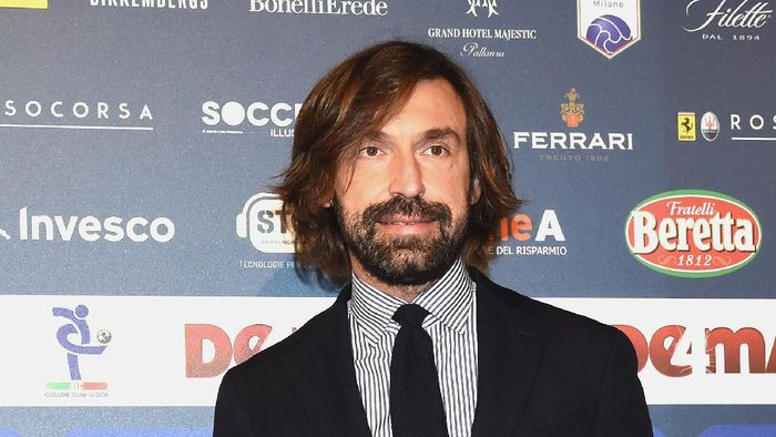 MILAN, ITALY - DECEMBER 03:  Andrea Pirlo attends the Oscar Del Calcio AIC Italian Football Awards on December 3, 2018 in Milan, Italy.  (Photo by Pier Marco Tacca/Getty Images)