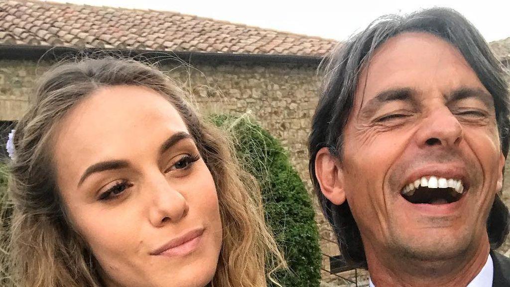 Angela Robusti, si Cantik Kekasih Pippo Inzaghi