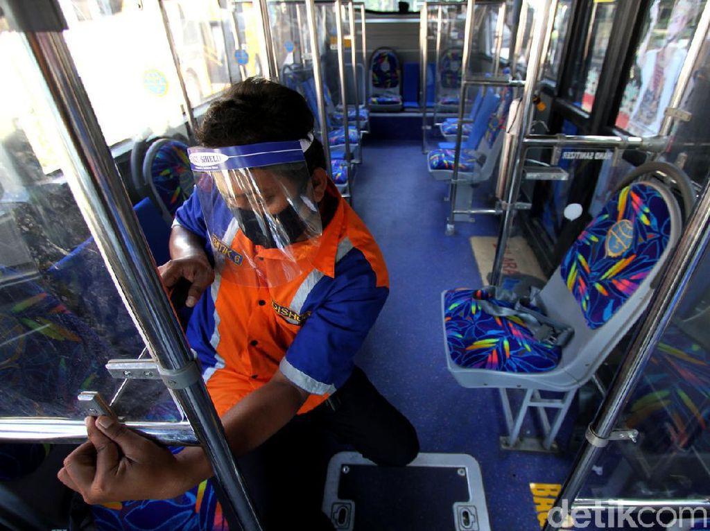 Langkah PO Bus Tekan Penularan Corona saat SIKM Dihilangkan