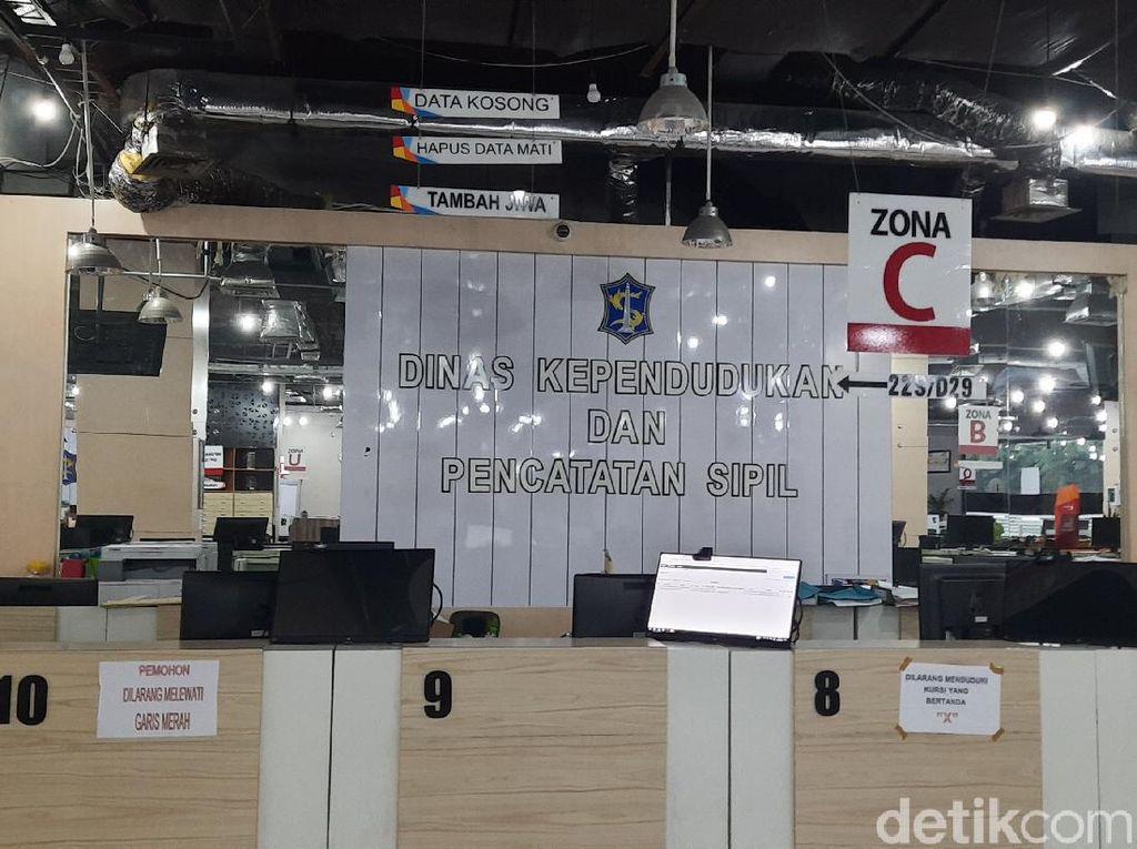 3 ASN Positif COVID-19, Dispendukcapil Surabaya Ditutup Lagi