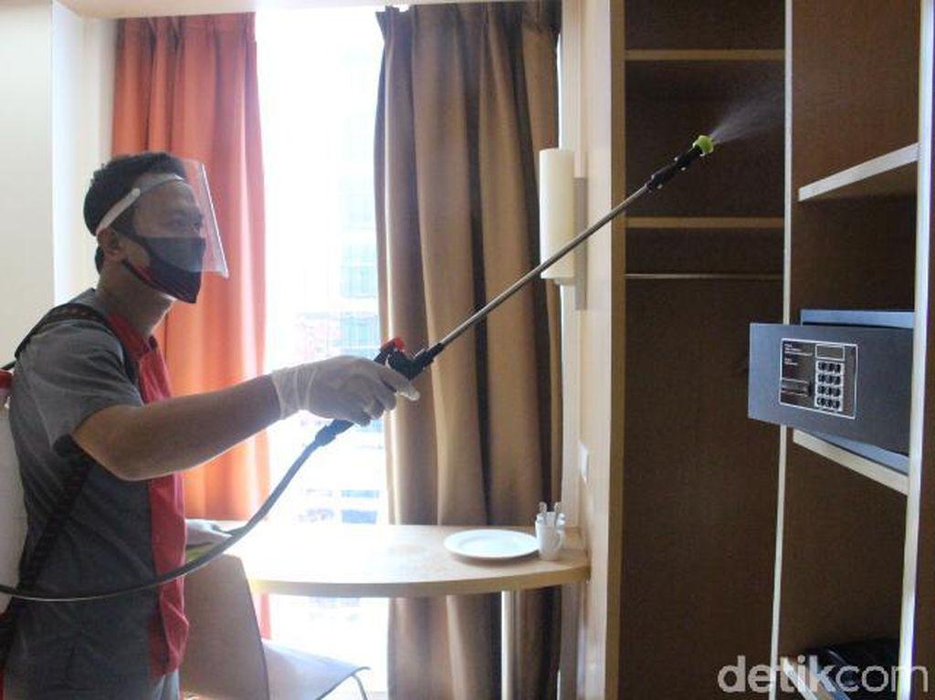 Cegah Corona, Kamar Hotel Ibis Bandung Trans Studio Dibersihkan Berlapis