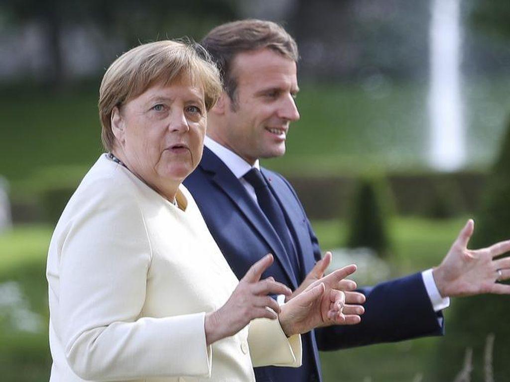 Merkel Janji Akan Mempelopori Upaya Pemulihan Corona di Uni Eropa