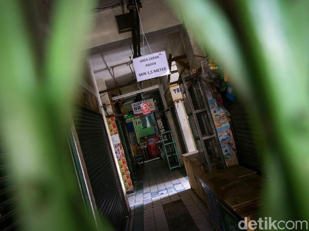 Swab Test di 68 Pasar DKI, 142 Pedagang Terkonfirmasi Positif Corona