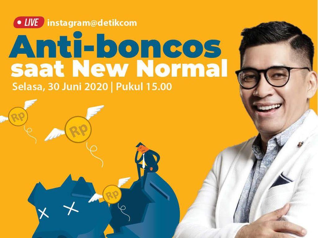 Jangan Boncos saat New Normal, Tonton Live IG detikcom Bersama Aidil Akbar