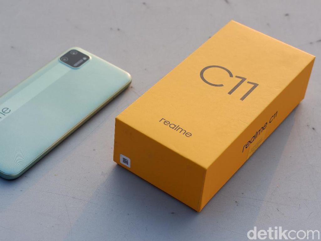 Realme C11, Ponsel Murah Penerus Seri C2