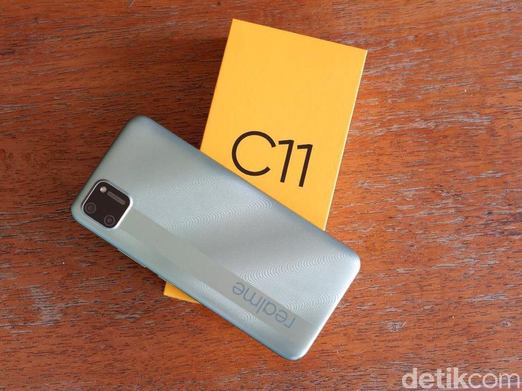 Realme C11 Menggoda dengan Harga Rp 1 Jutaan