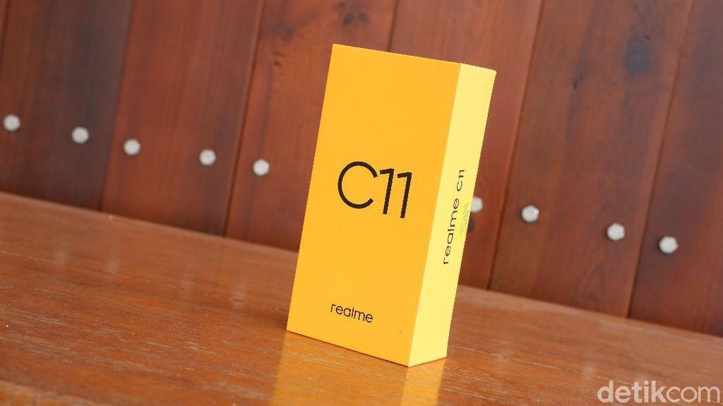 Unboxing Realme C11, Ponsel Rp 1,6 Juta Punya Kamera Mirip Pixel 4