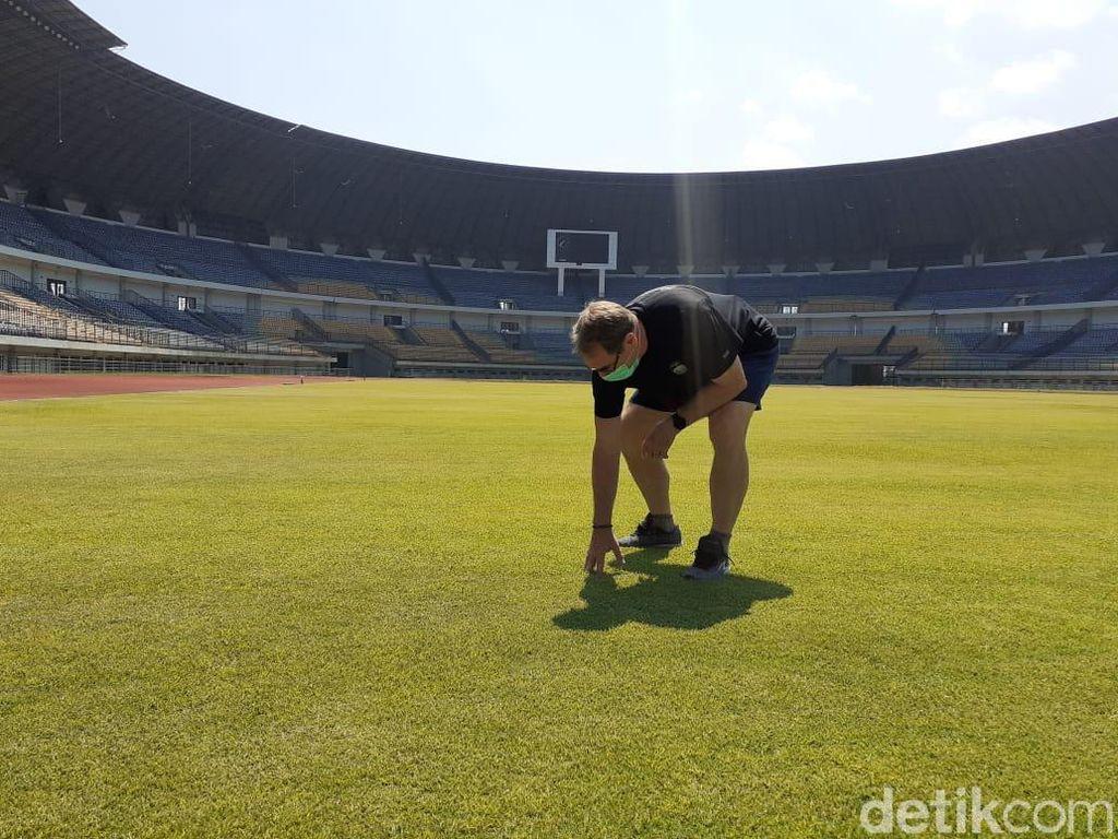 Mau Latihan Lagi, Persib Tinjau Kesiapan Stadion GBLA