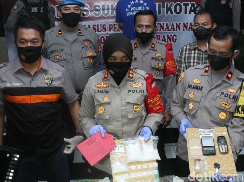 Simpan Sabu Senilai Rp 368 Juta, Pria di Sukabumi Ditangkap