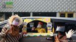 Semangat New Normal, PAUD Rumah Main-main Wisuda dari Dalam Mobil