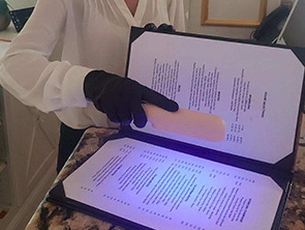 Restoran Gunakan Sinar UV untuk Bersih-bersih Corona