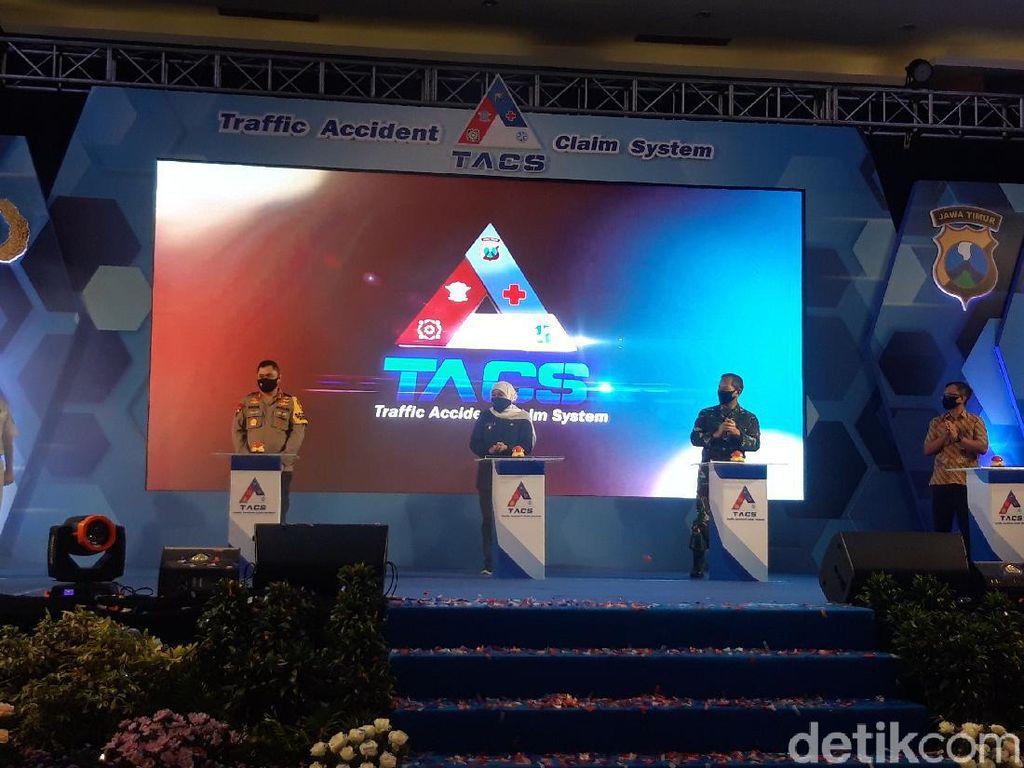 Resmi Dilaunching, TACS Permudah Klaim Asuransi Kecelakaan di Jatim