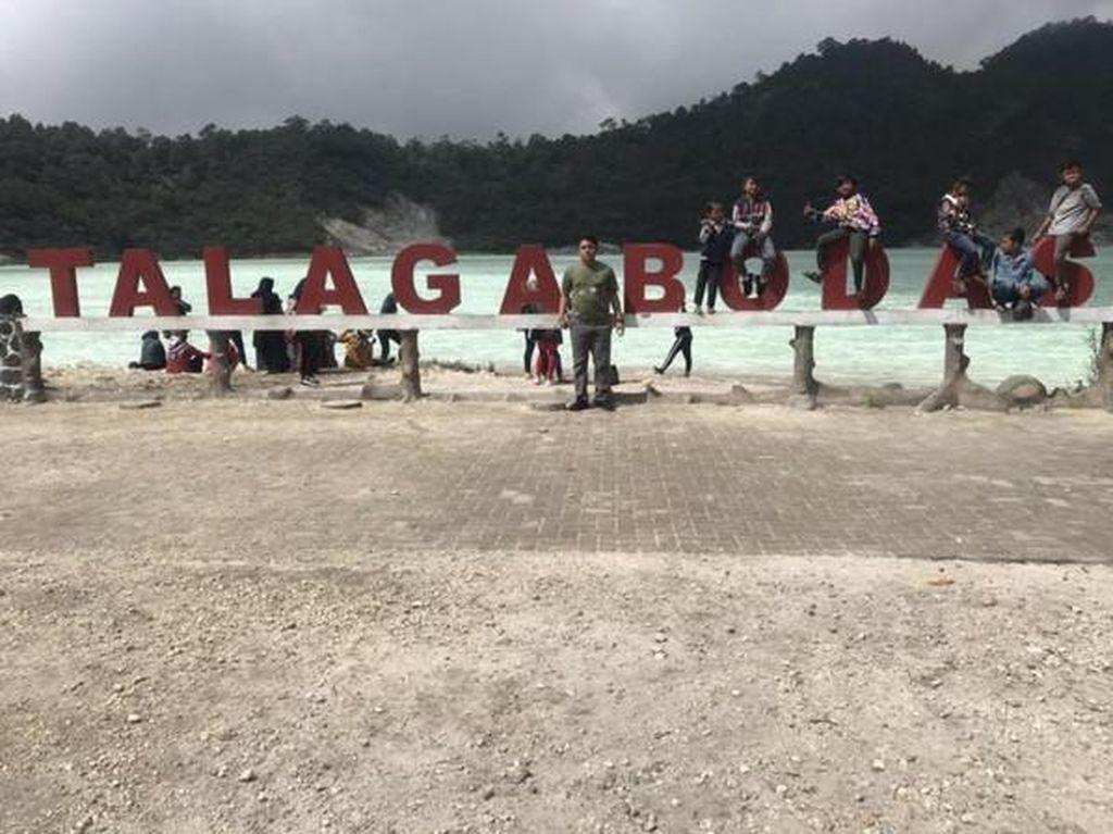 Perjalanan Mengasyikkan ke Kawah Talaga Bodas Garut Seusai PSBB