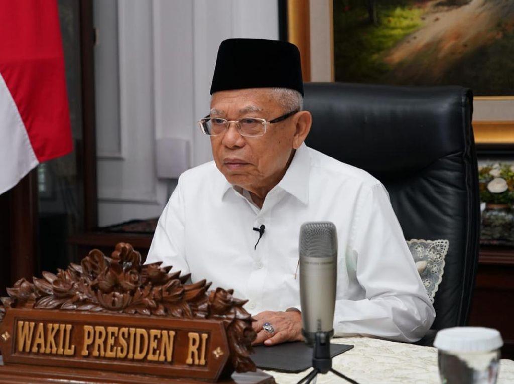 Wapres Maruf Amin Minta Pesantren Cegah Penularan Covid-19