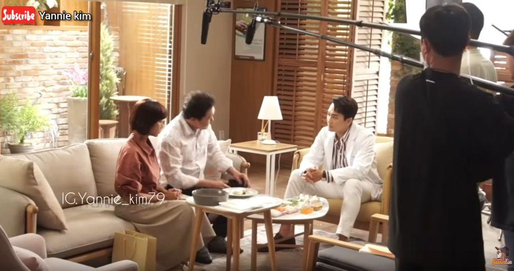 Yannie Kim syuting bareng Song Seung Heon