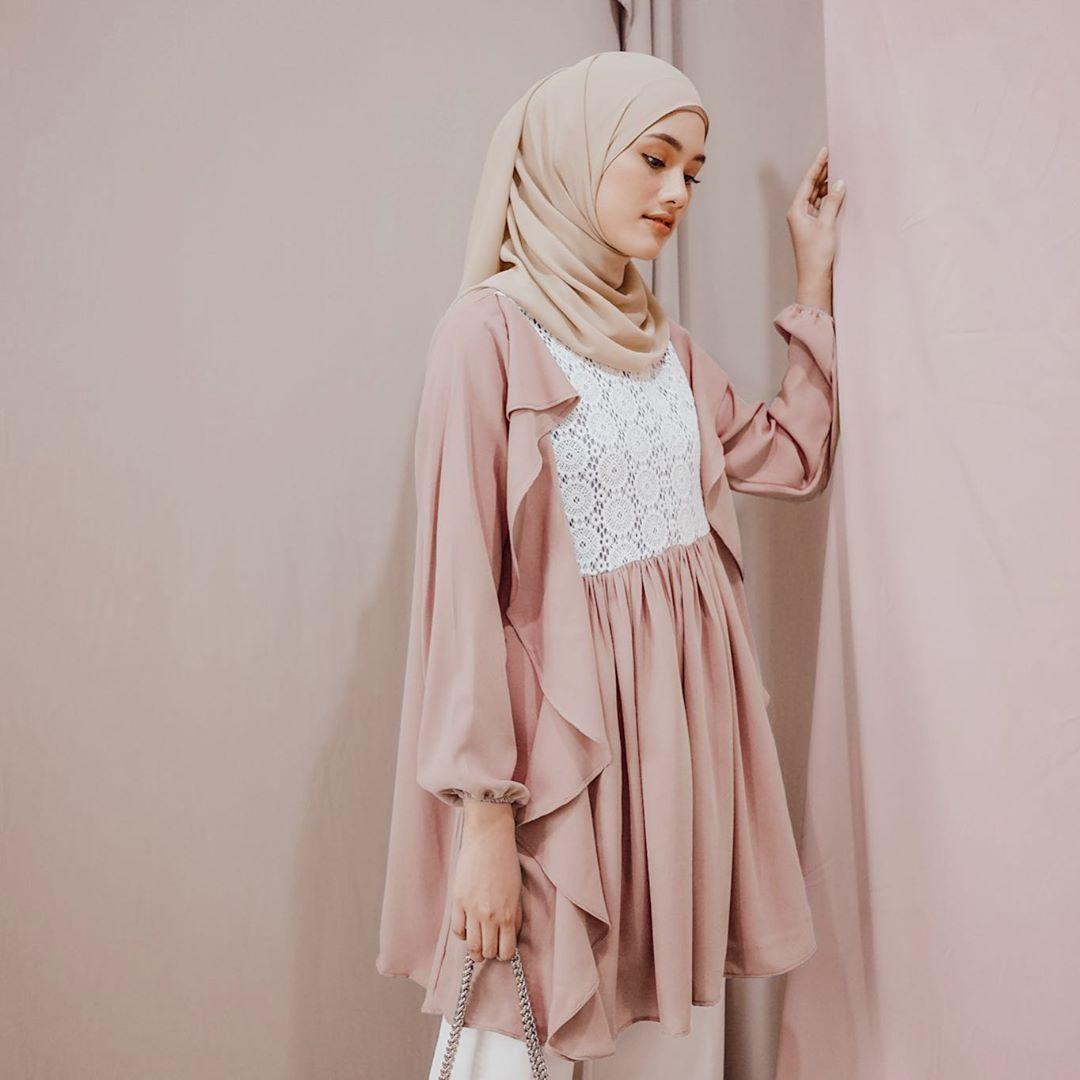 bahan hijab voal dan diamond